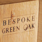 BGO green oak book ends. £30 a pair